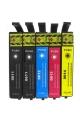 4 pack de 5 cartouches d'encre compatible EPSON T0615