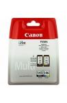 Pack de 2 cartouche d'encre original Canon PG-545 CL 546