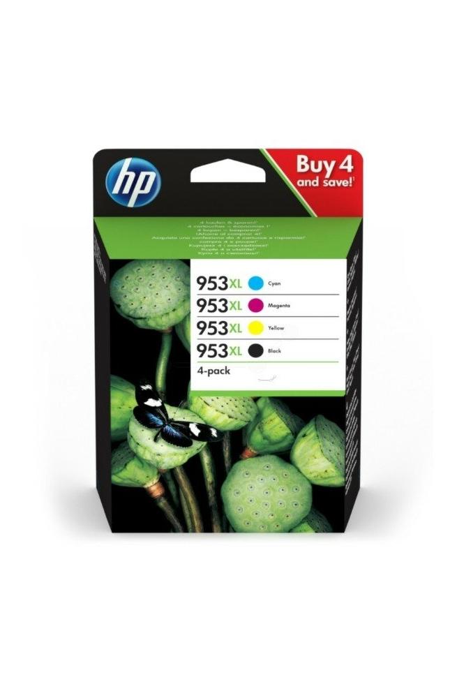 Pack de 4 cartouche d'encre original HP 953XL