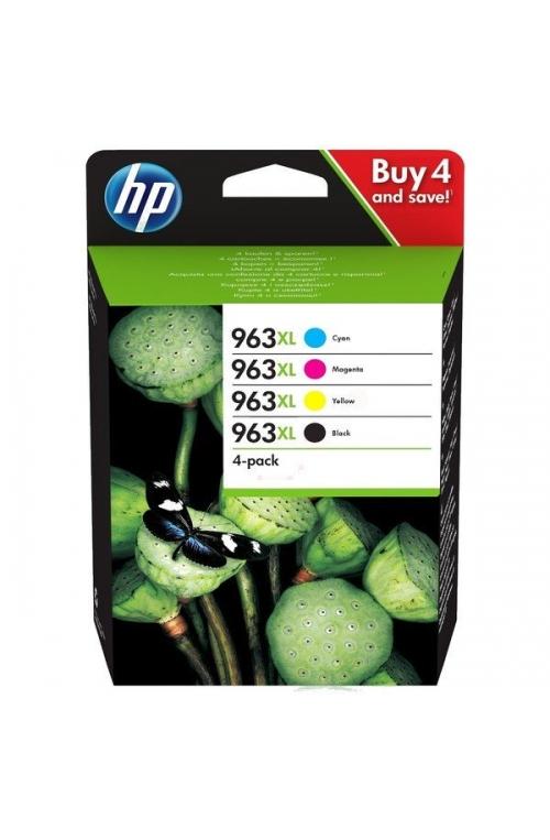 Pack de 4 cartouche d'encre original HP 963XL