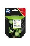 Pack de 4 cartouche d'encre original HP 950XL/951XL