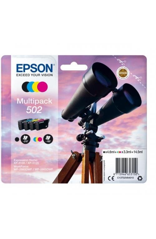 Pack de 4 cartouche d'encre EPSON 502