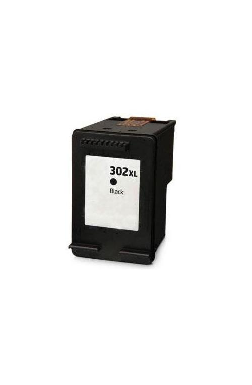Pack de 2 cartouche d'encre compatible HP 302XL noir et couleur