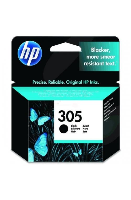 1 cartouche d'encre original HP 305 noir