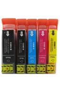 Pack de 5 cartouches d'encre CANON PGI5 / CLI8 / IP005C