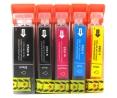 Pack de 5 cartouches d'encre CANON PGI520 / PGI521 / 1P520C