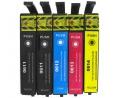 Pack de 5 cartouches d'encre EPSON T0615